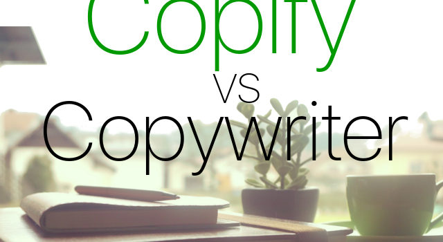 Copify vs. Copywriter