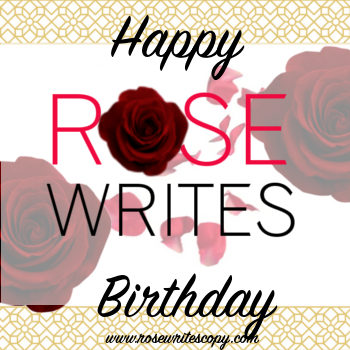 Rose Writes turns two!