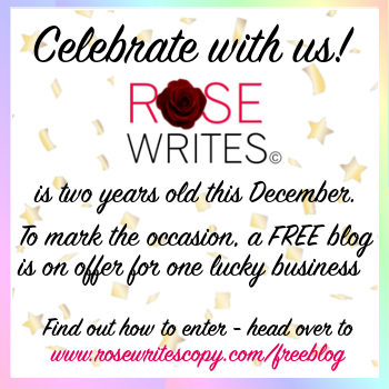 Birthday Blog Competition